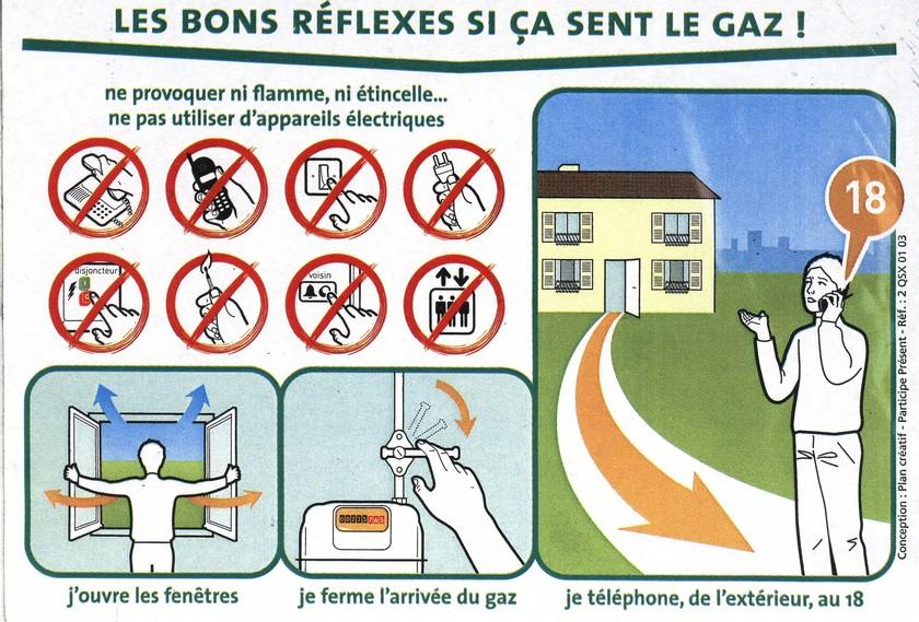 Grdf france for Odeur de gaz que faire